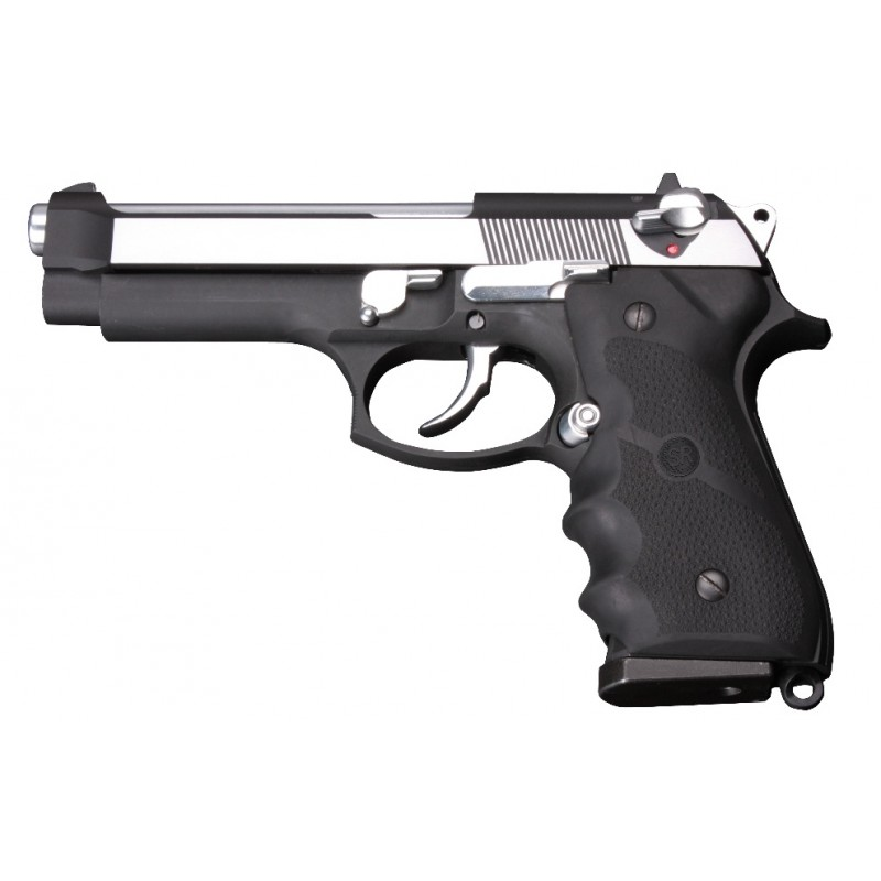 sr92 m92 pistol replica dual tone full metal gas blow back pistol heritage airsoft. Black Bedroom Furniture Sets. Home Design Ideas