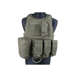 GFC TACTICAL - Gilet tactique FSBE - OD