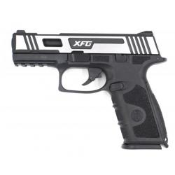 Pistolet Airsoft XFG GBB Gaz - 0,9 joule - Hairline