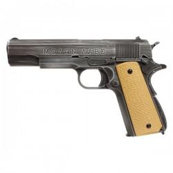 AW CUSTOM - Pistolet Airsoft 1911 Molon Labe NE2001 GBB Gaz