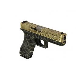 WE - S17 GEN 3 GBB Gaz - 0,9 Joule - GOLD
