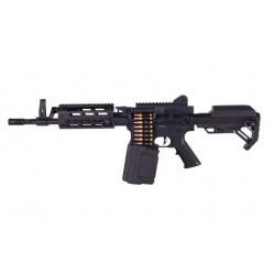 LMG courte Machine Gun Full Métal GEN2 AEG 1.4J - GOLDEN EAGLE