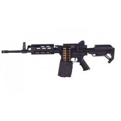 GOLDEN EAGLE - LMG longue Machine Gun Full Métal GEN2 AEG 1.4J