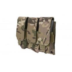 GFC TACTICAL - Poches Triple pour chargeurs type M4/M16 - MULTICAM