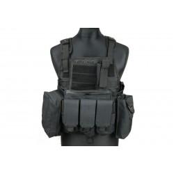 GFC TACTICAL - Gilet tactique type plate carrier - NOIR