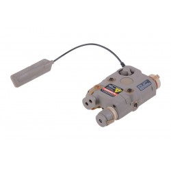 FMA - Boitier PEQ lampe/laser rouge - TAN