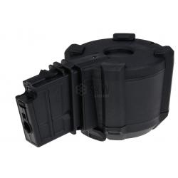 SAIGO DEFENSE - Chargeur DRUM électrique 1000 billes pour G36