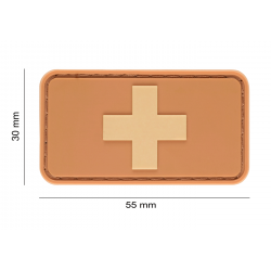 JTG - Patch PVC SWISS - TAN