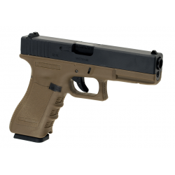 WE - G17 Gen 3 GBB Gaz - 0,9 Joule - TAN