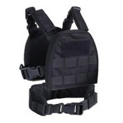 S&T ARMAMENT - Gilet tactique Plate Carrier pour enfant - NOIR