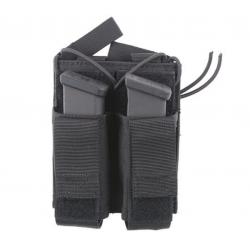 GFC TACTICAL - Poche double pour chargeur arme de poing - NOIR