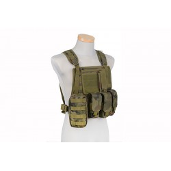 GFC TACTICAL - Gilet Tactique type MBSS - WZ.93 WOODLAN PANTHER