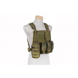 GFC TACTICAL - Gilet Tactique type MBSS - WZ.93 WOODLAN PANTHER