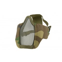 ULTIMATE TACTICAL - Masque grillagé EVO - WOODLAND