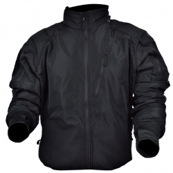 JS-TACTICAL - Manteau URF - NOIR