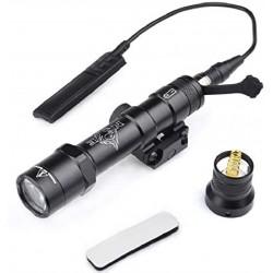 NIGHT EVOLUTION - Lampe M600B + support + Contacteur Déporté - NOIR