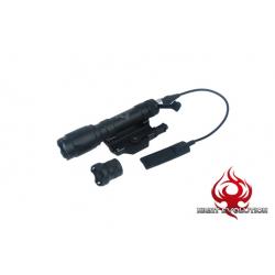 NIGHT EVOLUTION - Lampe M620C + support + Contacteur Déporté - NOIR
