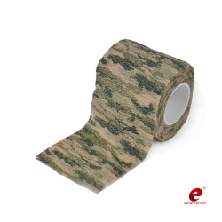 ELEMENT AIRSOFT - Bande de camouflage - CRISP GREEN CAMO