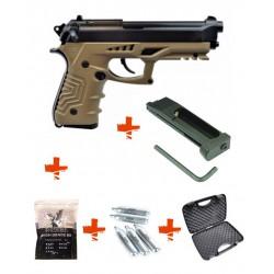 Pack M92 A1 HFC + mallette + billes 0,25gr + cartouche de Co2 + 1 Chargeur