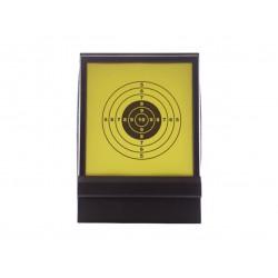 HFC - Porte cibles pliante avec filet + 10 cibles papier