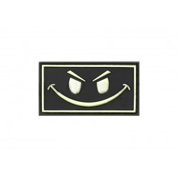 JTG - Patch PVC Evil Smile - PHOSPHO