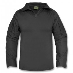 Tactical Shirt with elbows pads black