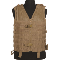 Gilet MOLLE coyote