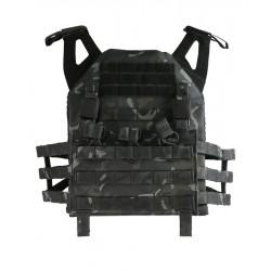 Porte plaque JPC multicam black BTP - Kombat