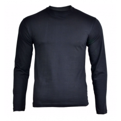 T-shirt long sleeves, black