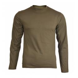 MIL-TEC - T-shirt - Manches longues - Olive