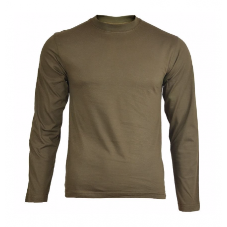 T-shirt long sleeves, Olive