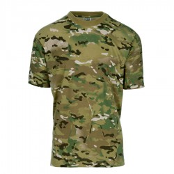T-Shirt Short Sleeves Multi Camo