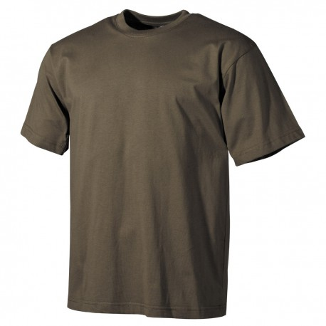 T-shirt olive, Short Sleeves, higher quality