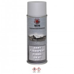 Paint Matt Spray for replica 400ml grey