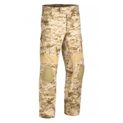 Pantalon d'airsoft coupe G2 Predator avec inserts aux genoux - Digital Desert - Invader Gear