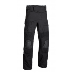 Pantalon d'airsoft coupe G2 Predator avec inserts aux genoux - Noir - Invader Gear