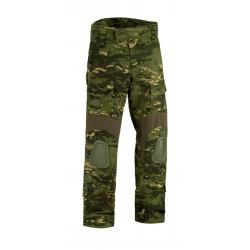 Pantalon d'airsoft coupe Predator avec inserts aux genoux - Multi Camo Tropical - Invader Gear