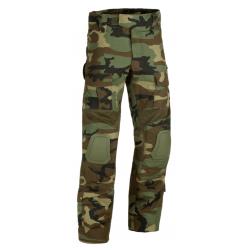 Pantalon d'airsoft G2 Predator avec inserts - Woodland - Invader Gear