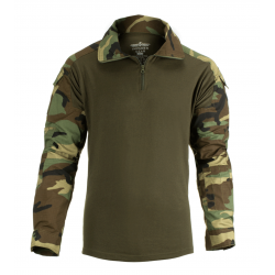 Chemise de combat d'airsoft - UBAC G2 - Woodland - Invader Gear