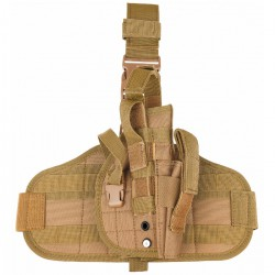 Leg Holster with MOLLE platform coyote