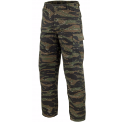 Pantalon d'airsoft BDU Vietnam 3eme type tiger stripes - Prélavé - Mil-Tec