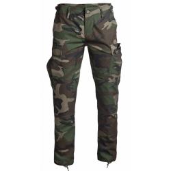 Pantalon Woodland coupe BDU Slim Fit - Mil-Tec