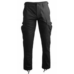 Pantalon noir coupe BDU Slim Fit - Mil-Tec