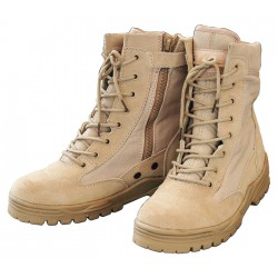 Patriot Boots Tan with zip