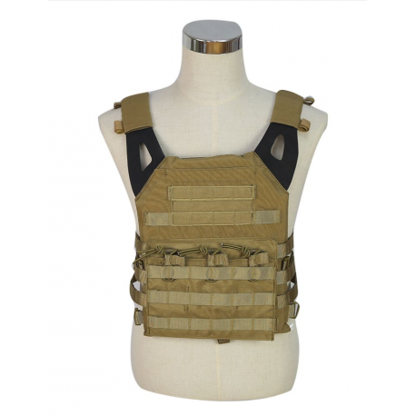 SWISS ARMS - Gilet style JPC - COYOTE