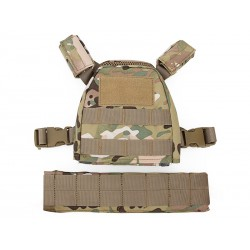 BIG FOOT - Gilet tactique Plate Carrier pour enfant - ATP
