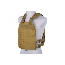 PRIMAL GEAR - Gilet tactique/plate carrier laser-cut - TAN