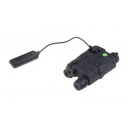 FMA - Boitier PEQ lampe/laser VERT - NOIR