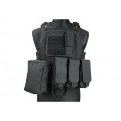 GFC TACTICAL - Gilet tactique AAV FSBE - NOIR