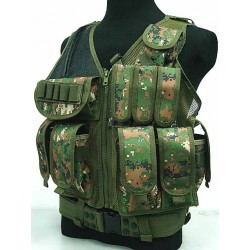 Tactical vest Woodland Digital